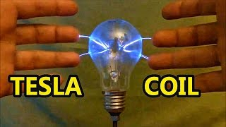 getlinkyoutube.com-Tesla Coil Plasma Ball ᴴᴰ