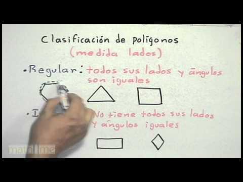 Clasificación de polígonos (cantidad de lados) - HD
