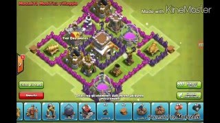Clash of Clans Municipio livello 5-Trofei!!