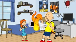 getlinkyoutube.com-Caillou hits rosie and gets grounded