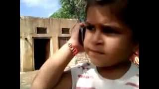 funny punjabi talk between a girl and a kid