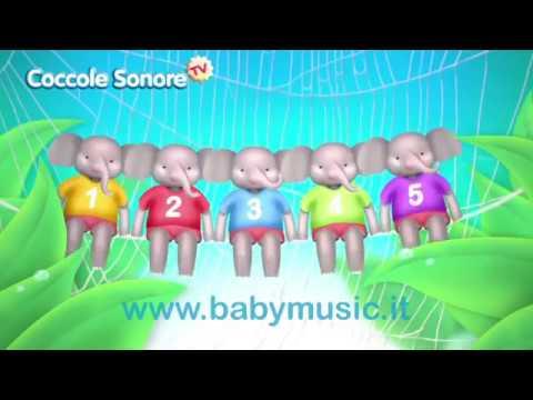 L'elefante si dondolava - Canzoni per bambini di Coccole Sonore