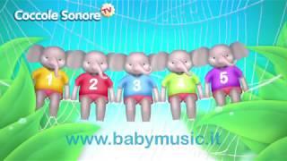 getlinkyoutube.com-L'elefante si dondolava - Canzoni per bambini di Coccole Sonore