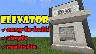 getlinkyoutube.com-ELEVATOR TUTORIAL | Minecraft PE Slime Piston Up and Down Elevator | #pinoyyoutubersrule