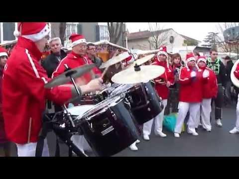 La Banda' loups de Bois plage en ré Marché de Noël à Courçon 2
