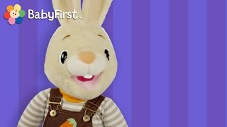 getlinkyoutube.com-Peekaboo with Harry the Bunny | Hide and Seek Game for Kids by BabyFirst