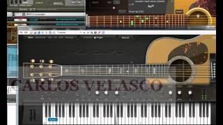 getlinkyoutube.com-serenata virtual guitarra con el varranger2 cantabile performer y vsts