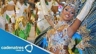 Río de Janeiro a un día de la inauguración del mundial