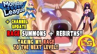 getlinkyoutube.com-[CRINGE] CHANNEL UPDATE + MONSTER SUPER LEAGUE!! NO LIMIT!! INSANE RAGE SUMMONS & REBIRTH!!