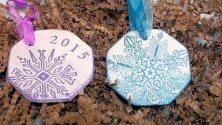 getlinkyoutube.com-DIY Clay Ornaments AND Christmas Lights Contest