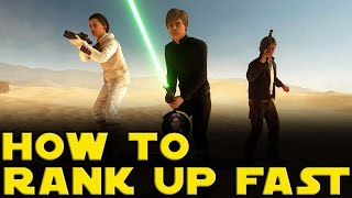 getlinkyoutube.com-How To Rank Up Fast In Star Wars Battlefront - The Best Way To Rank Up In Star Wars Battlefront