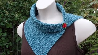 getlinkyoutube.com-CROCHET How to #Crochet Easy Beginner Vintage Style Scarf Cowl Wrap #TUTORIAL #272