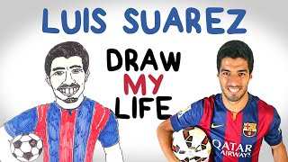 getlinkyoutube.com-Luis Suárez | Draw My Life