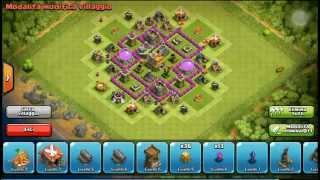 getlinkyoutube.com-Clash of Clans - Town Hall 6 Hybrid - Municipio livello 6 Ibrido Fortissimo
