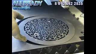 getlinkyoutube.com-Лазерная резка металла (стали) на ЧПУ лазере