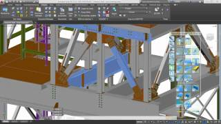 getlinkyoutube.com-Creating shop drawings with Autodesk Advance Steel