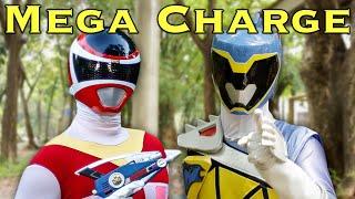 getlinkyoutube.com-MORPH PROBLEM: Mega Dino Charge Power Ranger