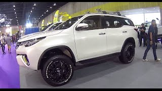 getlinkyoutube.com-Custom modified Toyota Fortuner 2015, 2016, new model, Mud Trucks
