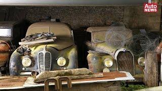 getlinkyoutube.com-Scheunenfund der besonderen Art: Die 60 Autos des Roger Baillon