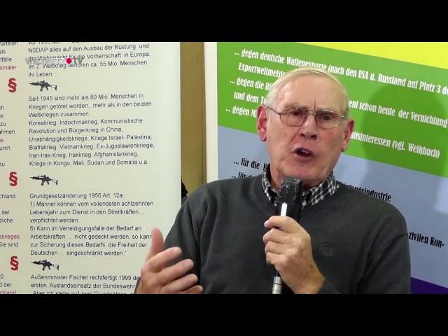 Leben in der Friedensbewegung (Willi Hoffmeister)