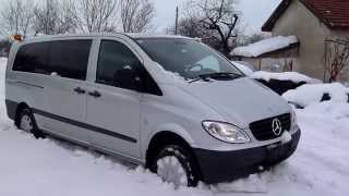 getlinkyoutube.com-Mercedes Vito w639 115 4X4 Automoatic