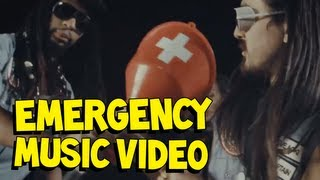 Steve Aoki - Emergency (ft. Lil Jon & Chiddy Bang)
