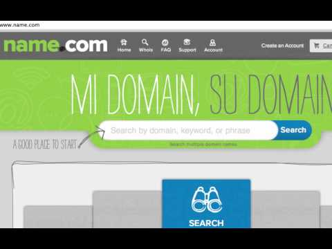Domain Names | Search, Registration, SSL Certificates, Web Hosting, Website Builder | Name.com