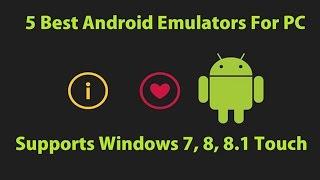 getlinkyoutube.com-Top 5 Free Android Emulator for Windows 7,8,8.1,10