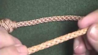 getlinkyoutube.com-Leather Braiding