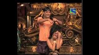 getlinkyoutube.com-Indian Girl TV Funny Hair Cut