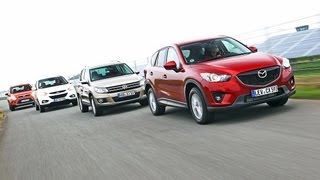 getlinkyoutube.com-Tiguan, Kuga, ix35, CX-5 - Mazda CX-5 schlägt VW Tiguan