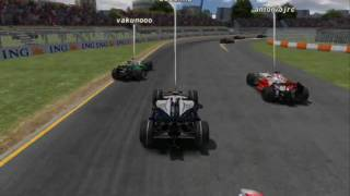 Rfactor Toyota vs Williams