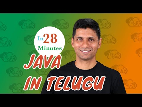 Java in Telugu 6 - Method Parameters