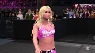 getlinkyoutube.com-WWE 2K16 Kelly Kelly and Alicia Fox and Eve vs PCB