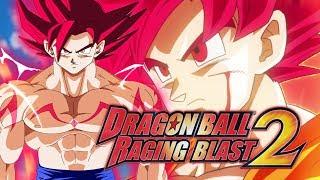getlinkyoutube.com-Goku SSJ Dios:Dragon Ball Z Raging Blast 2