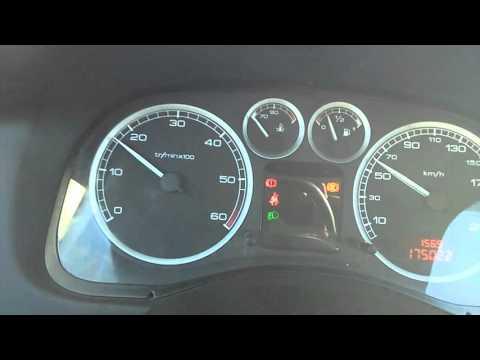 Peugeot 307 breaking stop, abs stop