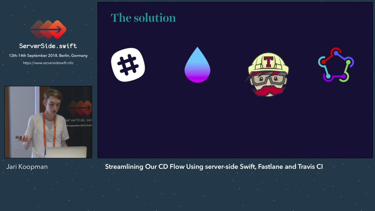 Streamlining Our CD Flow Using server-side Swift, Fastlane and Travis CI