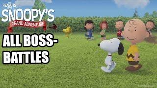 getlinkyoutube.com-The Peanuts Movie : Snoopy's Grand Adventure - All Bosses ( No Damage )  - All Boss Battles [ HD ]