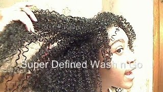 getlinkyoutube.com-Super Defined Wash n Go!