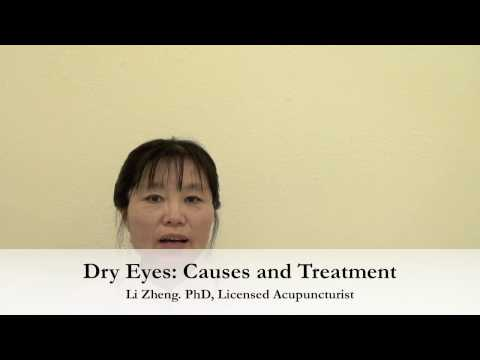 Dry Eyes: Causes and Treatment