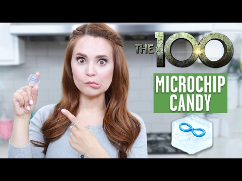 CANDY MICROCHIPS FROM THE 100 - NERDY NUMMIES