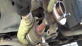 Cambio di un cuscinetto della ruota anteriore - Distacco  - Riattacco passo a passo