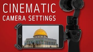getlinkyoutube.com-DJI Osmo | Best camera settings | Shutter Speed, ISO, Frame Rate, Anti Flicker, more