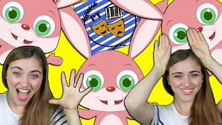 getlinkyoutube.com-τραγούδια ασκήσεων για παιδιά | Aχ κουνελακι | Greek Kids Action Songs | Paidika Tragoudia