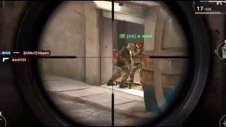getlinkyoutube.com-Modern combat 5!! sniper (e 24 ) gameplay on streets map!{ TEAM BATTLE} getting