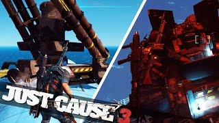 getlinkyoutube.com-JUST CAUSE 3 PLANE MODS! :: Just Cause 3 Crazy Stunts!