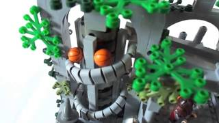 getlinkyoutube.com-Lego LotR : the unstable ruins (GBC)