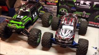 Traxxas Summit VS. Emaxx