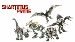 Transformers 4 Dinobots Age of Extinction Platinum Edition Unleashed Shared BBTS Exclusive 5 Pack Ac