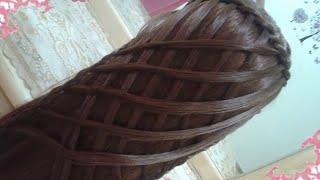 getlinkyoutube.com-peinados sencillos faciles para cabello largo bonitos y rapidos con trenzas para niña mariposa#30